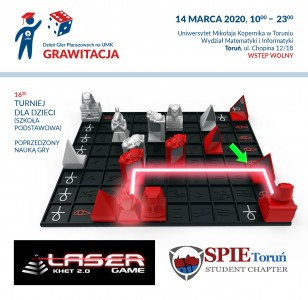 SPIE Chapter Toruń (Khet Laser Game 2.0)
