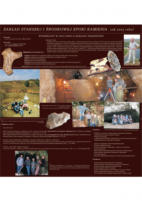 Historia Instytutu Archeologii - Instytut Archeologii